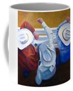 Bull Chute Coffee Mug by Shannon Grissom