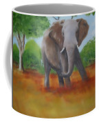 Bull Elephant Coffee Mug