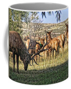 Bull Elk In Point Coffee Mug