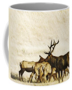 Bull Elk  Coffee Mug
