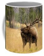 Bull Elk Sideview Coffee Mug
