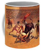 Bull Fight In Mexico 1889 Coffee Mug