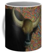 Bull In A Plastic Shop Coffee Mug