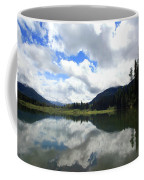 Bull Lake Cloud Reflection Coffee Mug