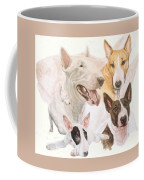 Bull Terrier W/ghost Coffee Mug