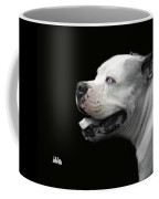 Bulldog Sando  Portrait  Coffee Mug