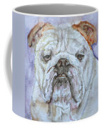 Bulldog - Watercolor Portrait.5 Coffee Mug