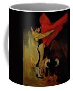 Bullfighter By Mary Krupa Coffee Mug