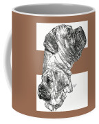 Bullmastiff And Pup Coffee Mug