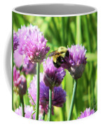 Bumble Bee And Chives Coffee Mug