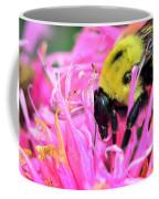 Bumble Bee And Flower Coffee Mug
