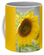 Bumble Bee And The Sunflower Coffee Mug
