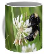Bumble Bee By The Pond Coffee Mug