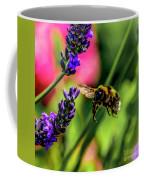 Bumble Bee In Flight Coffee Mug