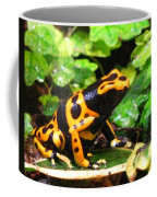 Bumble Bee Poison Frog Coffee Mug