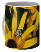 Bumble Bee Sitting On Black-eyed Susan Coffee Mug