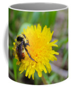 Bumble Bees And Dandelions Coffee Mug