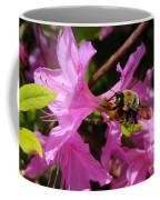 Bumblebee In Azalea Coffee Mug