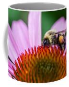 Bumblebee On Coneflower Coffee Mug