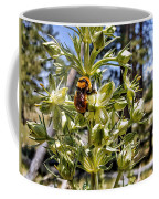 Bumblebee On Elkweed Blossoms Coffee Mug