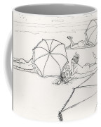 Bums On The Beach Coffee Mug