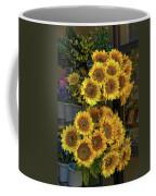 Bunches Of Sunflowers Coffee Mug