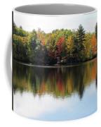 Bunganut Lake Maine Foliage 11 2016 Coffee Mug
