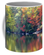 Bunganut Lake Maine Foliage 13 2016 Coffee Mug