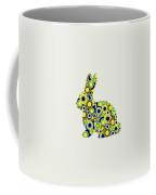 Bunny - Animal Art Coffee Mug by Anastasiya Malakhova