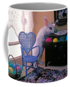 Bunny In Small Room Coffee Mug