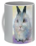 Bunny Rabbit Painting Coffee Mug by Svetlana Novikova