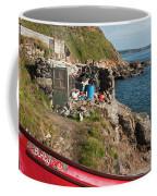 Bunty In Priest's Cove Cape Cornwall Coffee Mug