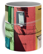 Burano Facade Coffee Mug
