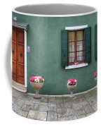 Burano Green Coffee Mug