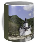 Burg Pfalzgrafenstein Squared Coffee Mug