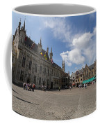 Burg Square In Bruges Belgium Coffee Mug