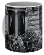 Burgandy Blur Coffee Mug