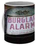 Burglar Alarm Coffee Mug