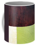 Burgundy Cream Pickle Coffee Mug