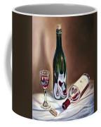 Burgundy Still Coffee Mug