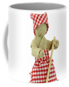 Burlap Doll Close-up View Coffee Mug