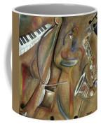 Burlap Sax Coffee Mug