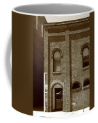 Burlington North Carolina - Arches And Alley Sepia Coffee Mug