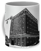 Burlington North Carolina - Main Street Bw Coffee Mug