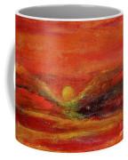 Burn Coffee Mug by Kim Nelson
