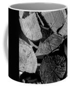 Burned Wood In The Pile Coffee Mug