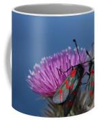 Burnet Moths Coffee Mug