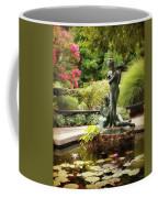 Burnett Fountain Garden Coffee Mug