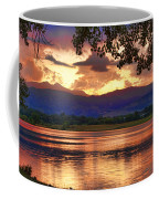 Burning Lake   Coffee Mug