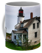 Burnt Island Lighthouse Side View Coffee Mug